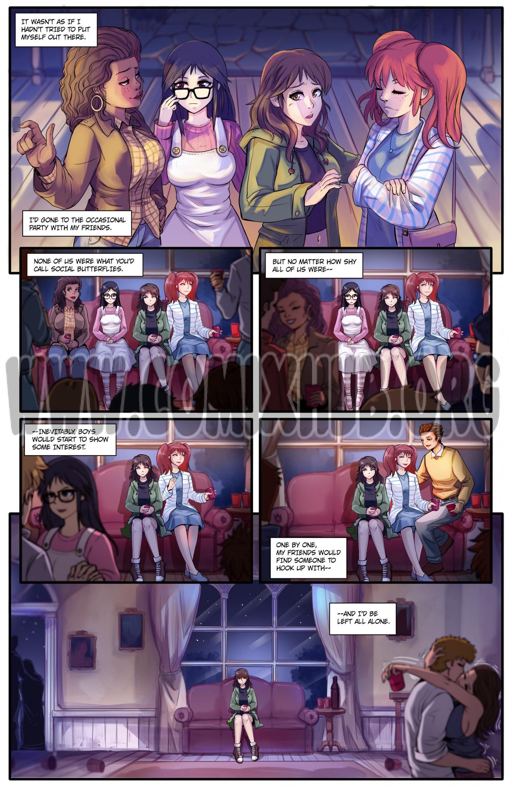 The Invisible Girl 1 porn comics Masturbation, Big Tits, fingering