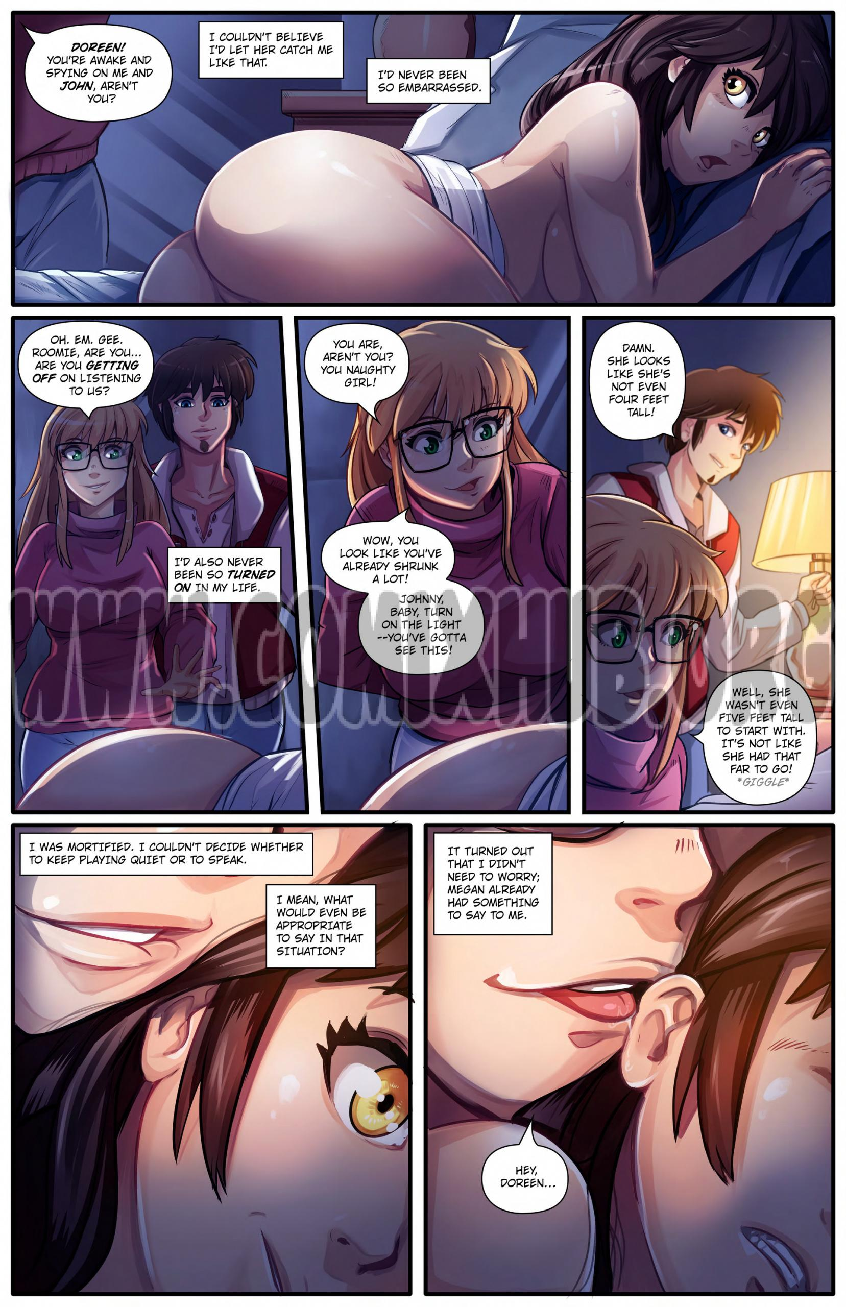 The Invisible Girl 2 porn comics Masturbation, Big Tits, Cum Shots, Group Sex, Sex and Magic, Straight