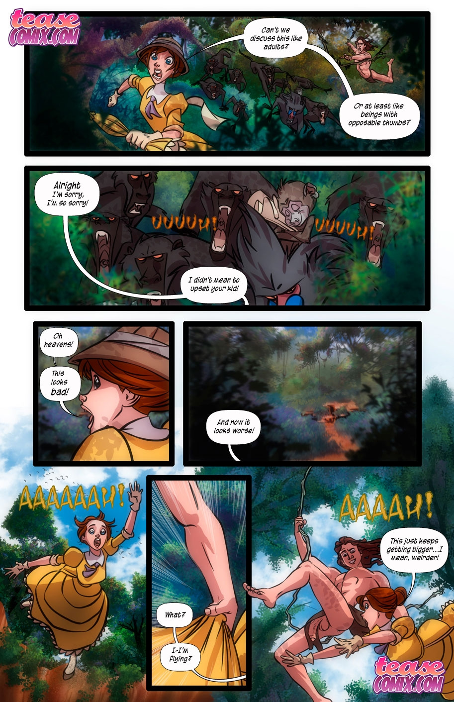 The Legend of the White Ape and the Snake porn comics Blowjob, Cum Swallow, Deepthroat, Masturbation, Oral sex, Straight, X-Ray