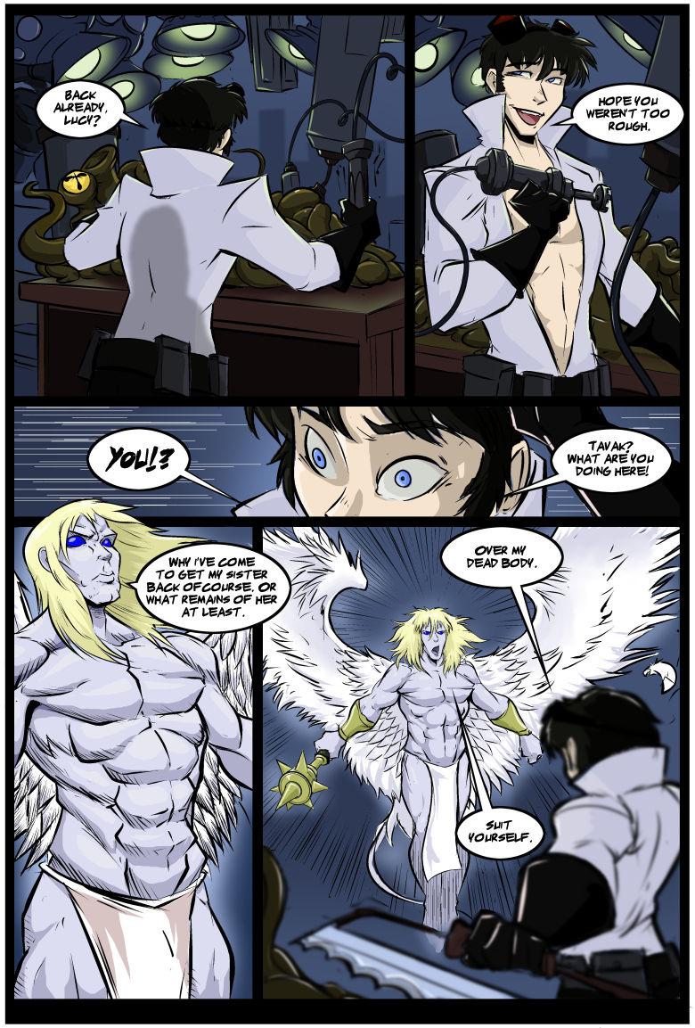 The Party 7 porn comics Big Tits, Monster Girls