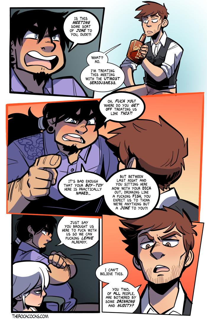 The Rock Cocks 03 porn comics Gay