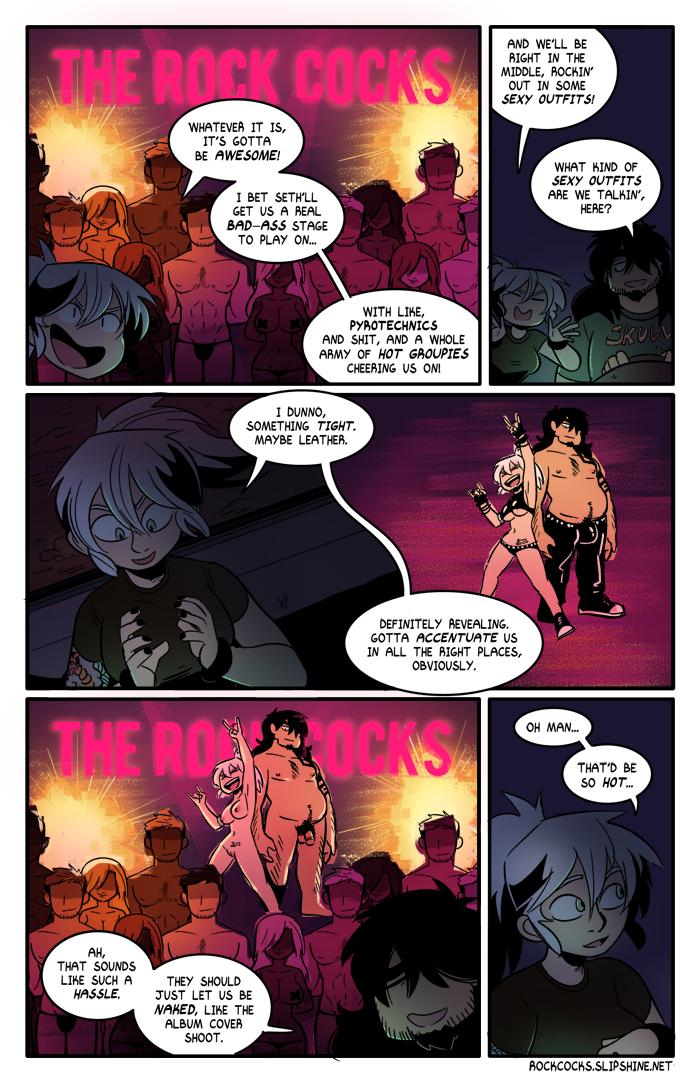 The Rock Cocks 06 porn comics Oral sex