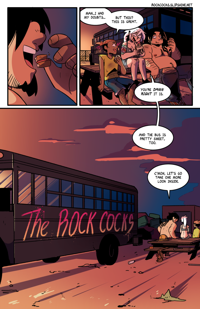 The Rock Cocks 08 porn comics Oral sex, Gay, Group Sex, Masturbation, Sex Toys