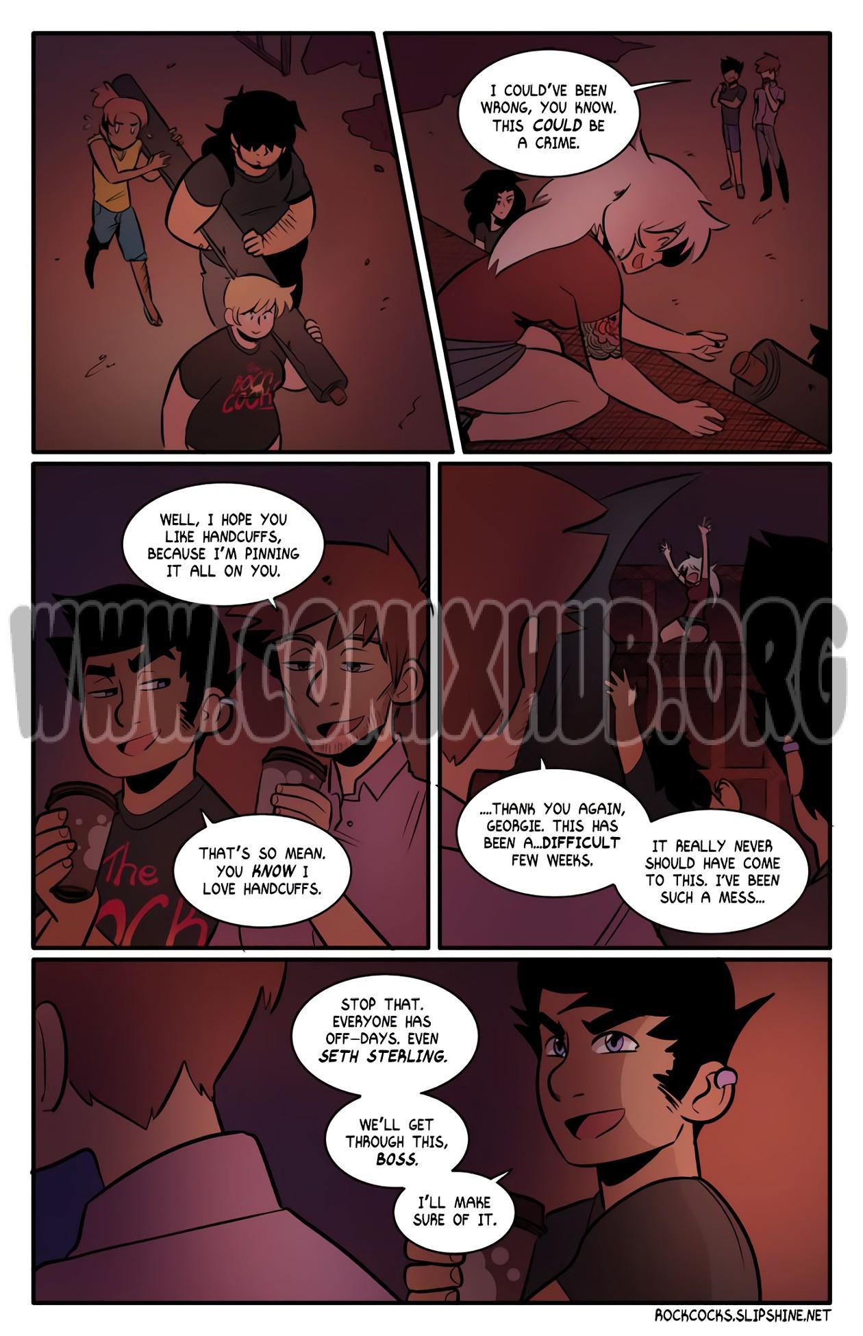 The Rock Cocks 13 porn comics Oral sex, Blowjob, Masturbation