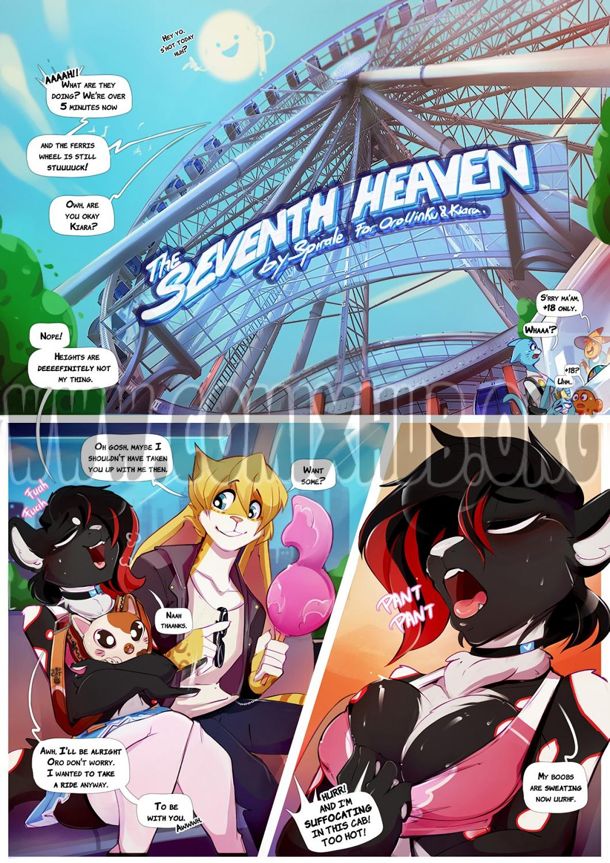 The Seventh Heaven porn comics Oral sex, Anal Sex, Blowjob, Creampie, fingering, Furry, Masturbation, Sex Toys, Straight, X-Ray