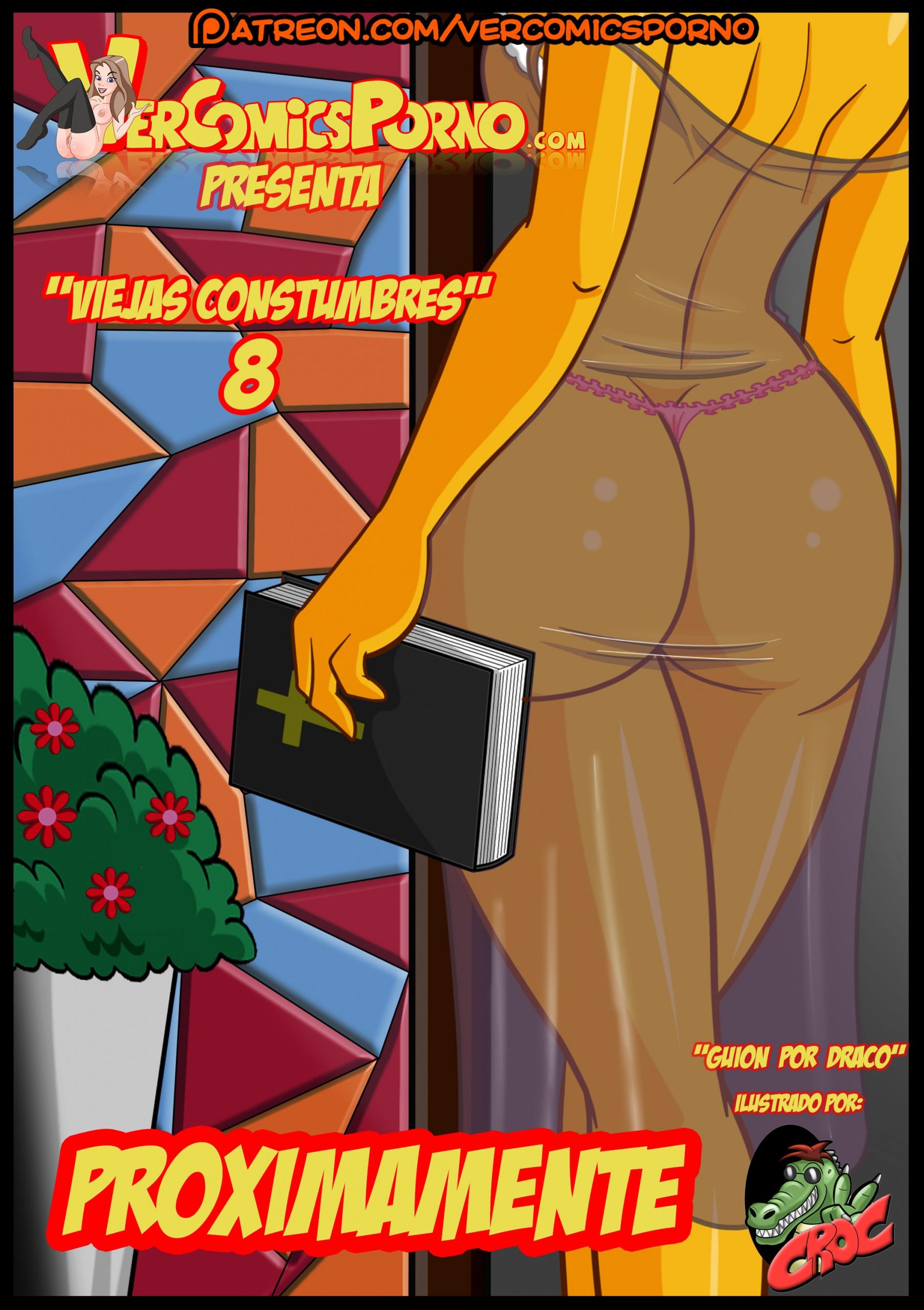 The Simpsons Old habits 8 porn comics Oral sex, Masturbation, MILF, Sex Toys, Stockings, Straight Shota
