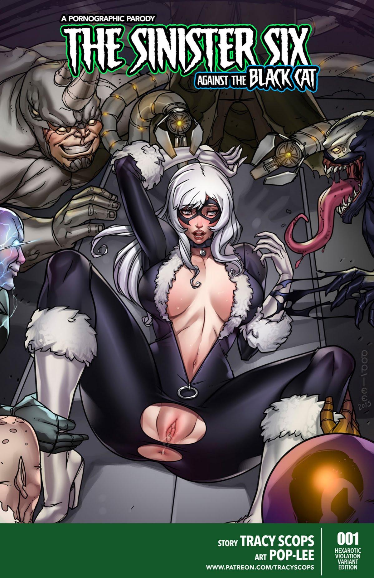 THE SINSTER SIX porn comics Anal Sex, Big Tits, Latex