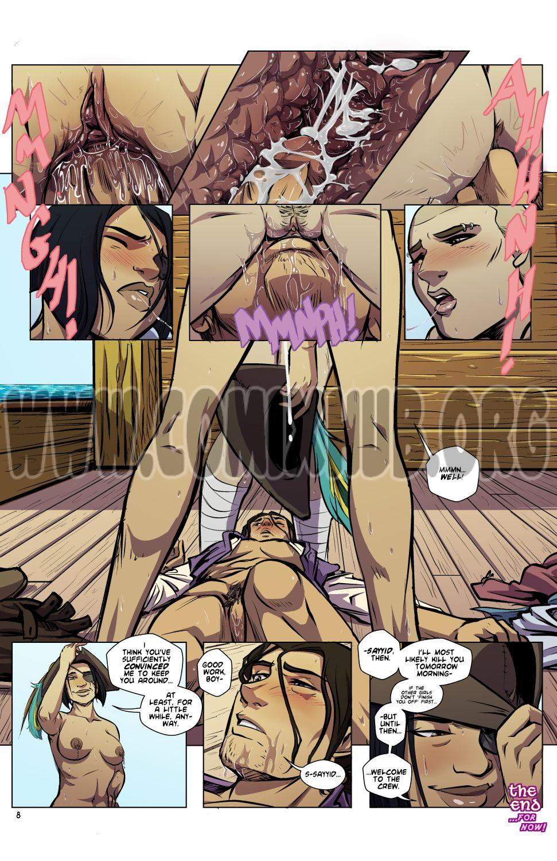 The Stowaway porn comics Oral sex, cunnilingus, Femdom, Straight