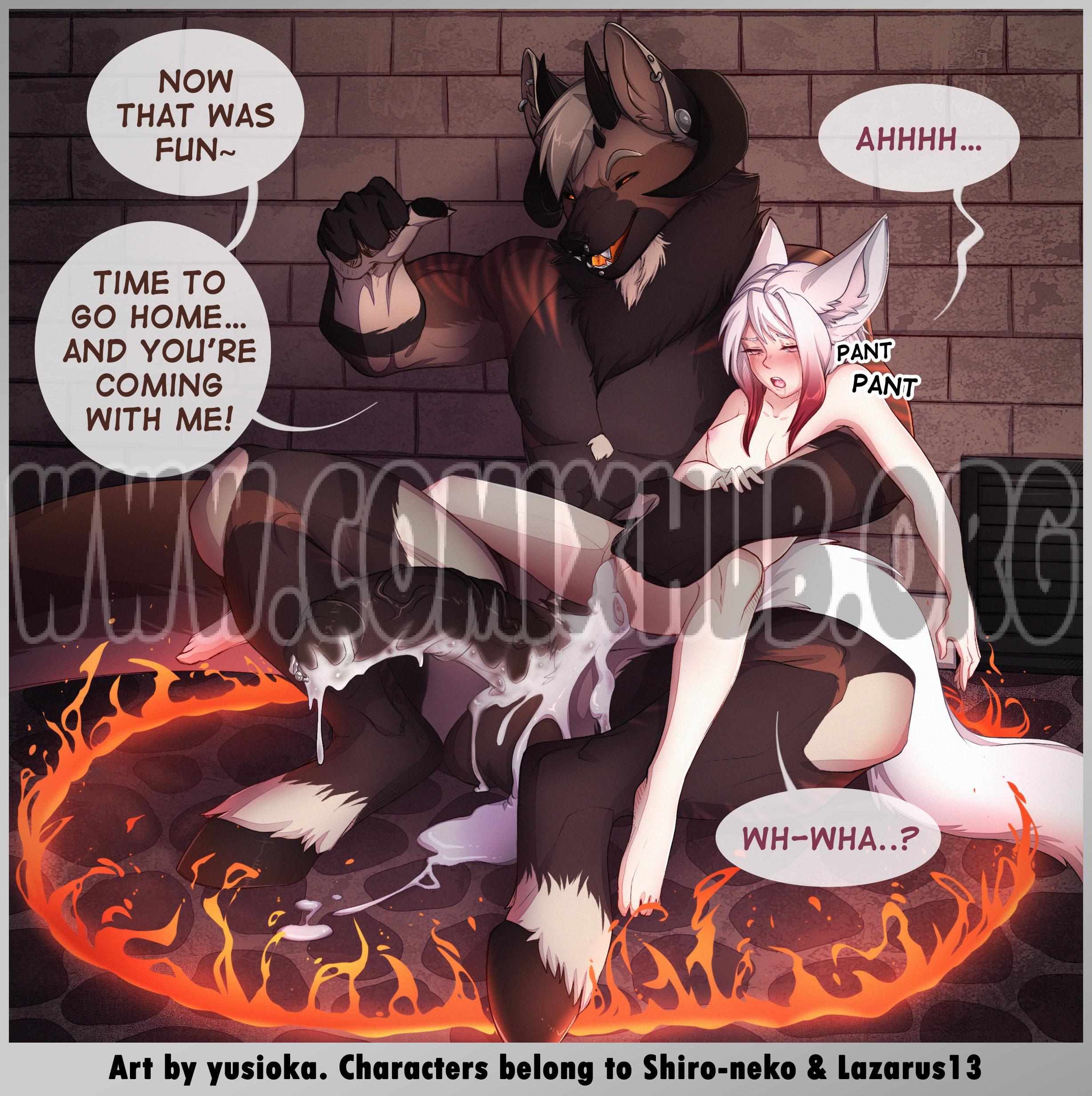 The Summoning Yusioka porn comics Blowjob, Creampie, Furry, Oral sex, Straight