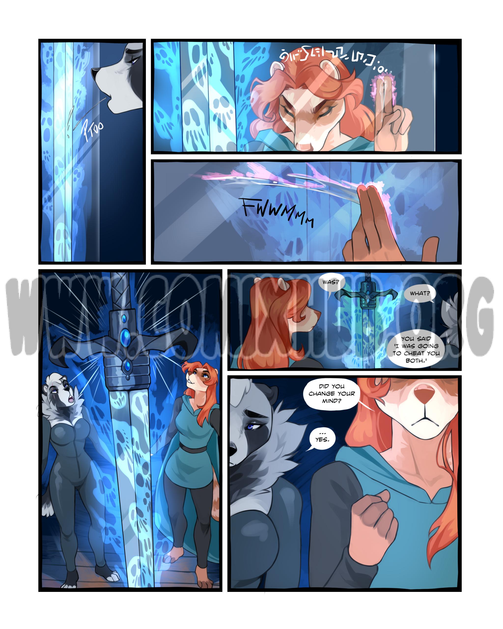 The Sword of Souls porn comics Furry, Lesbians