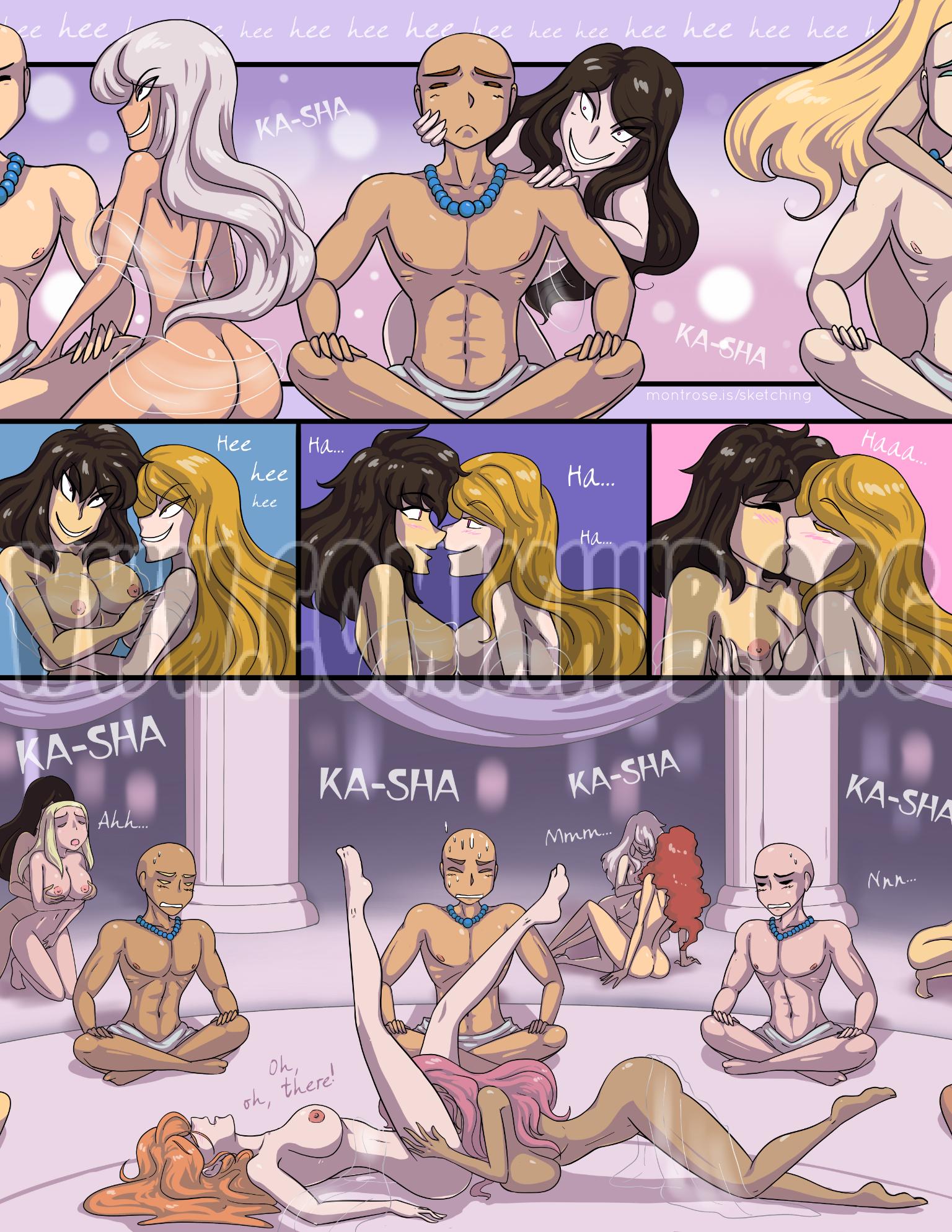 The Trial Kittyhawk Oral sex, cunnilingus, Lesbians, Masturbation