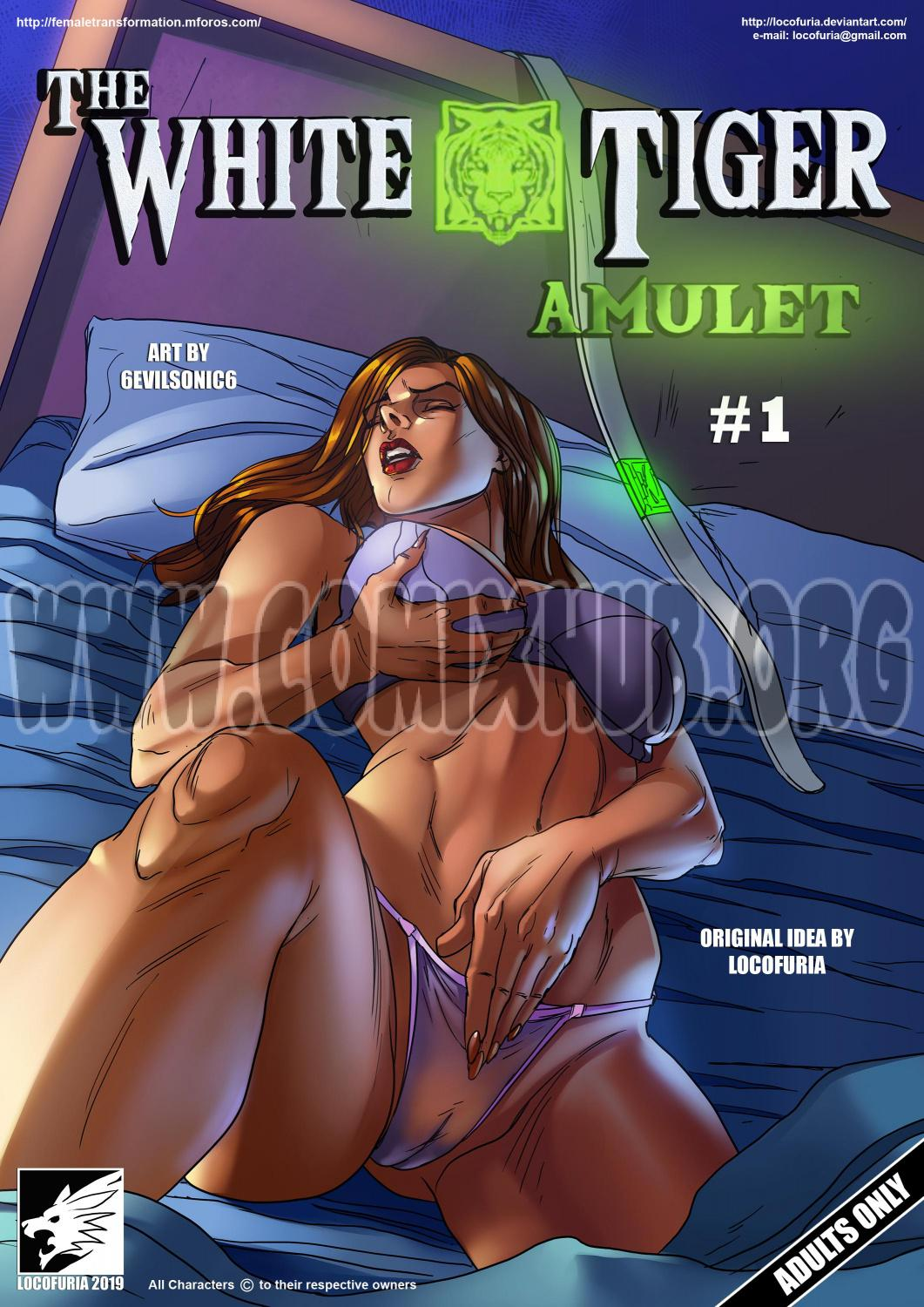 The White Tiger Amulet 1 porn comics Oral sex, Bestiality, Blowjob, cunnilingus, fingering, Furry, Masturbation, Straight