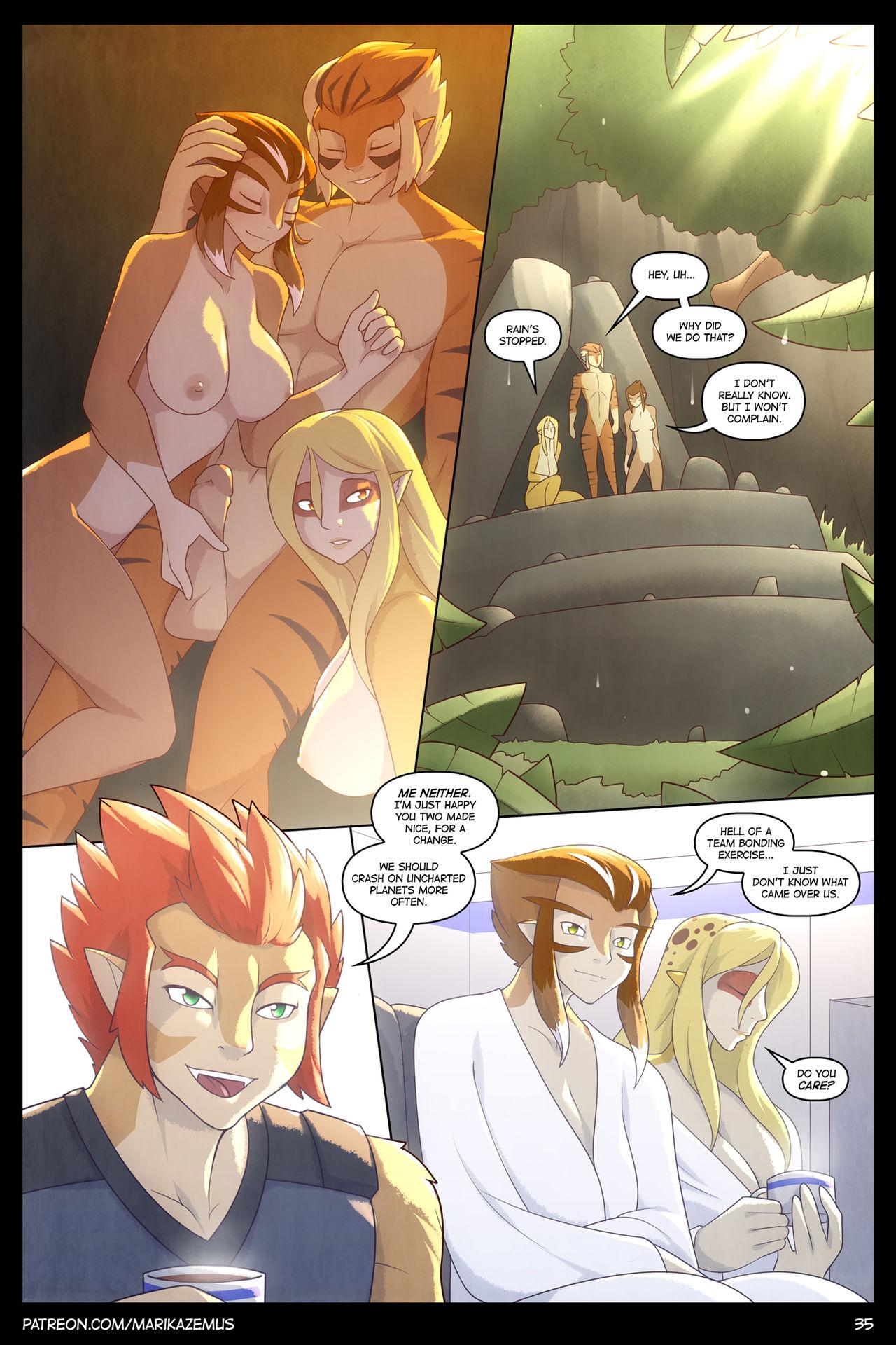 Thundercats: Heavy Rain porn comics Fantasy, Furry