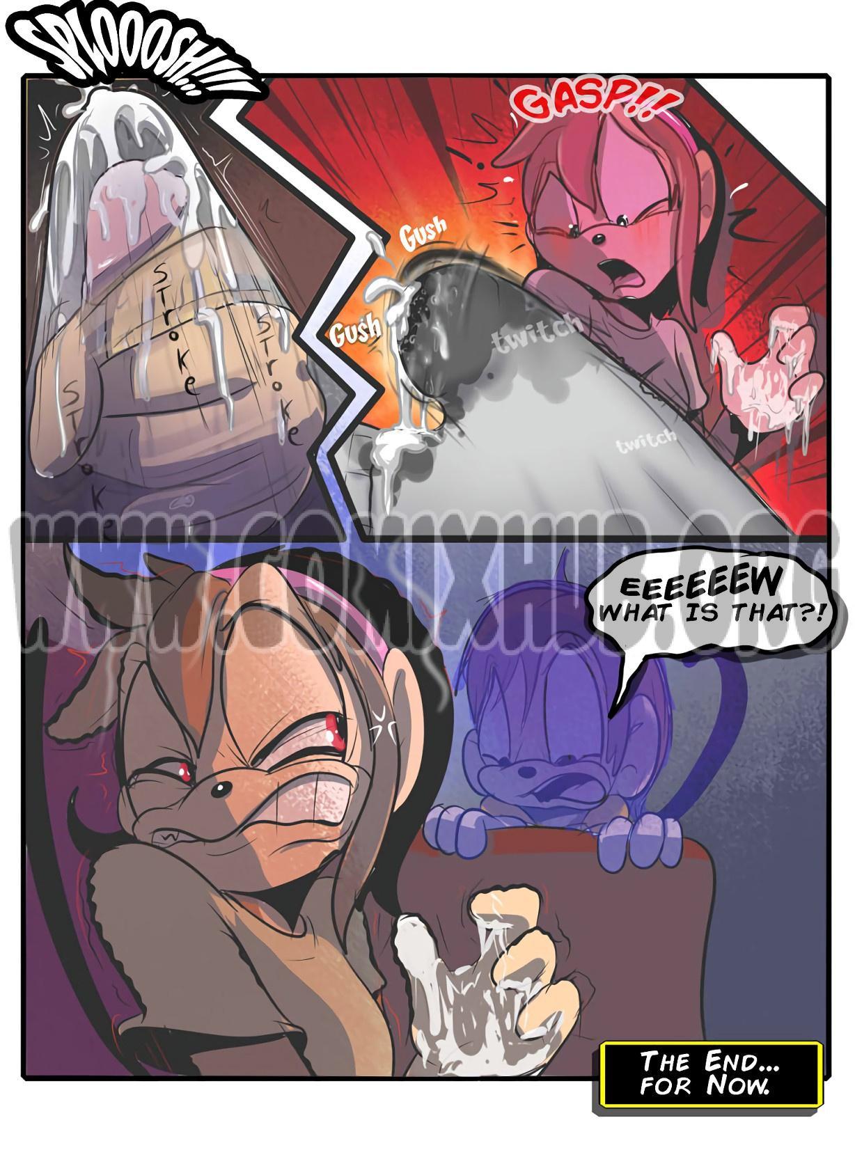 Trapped porn comics Masturbation