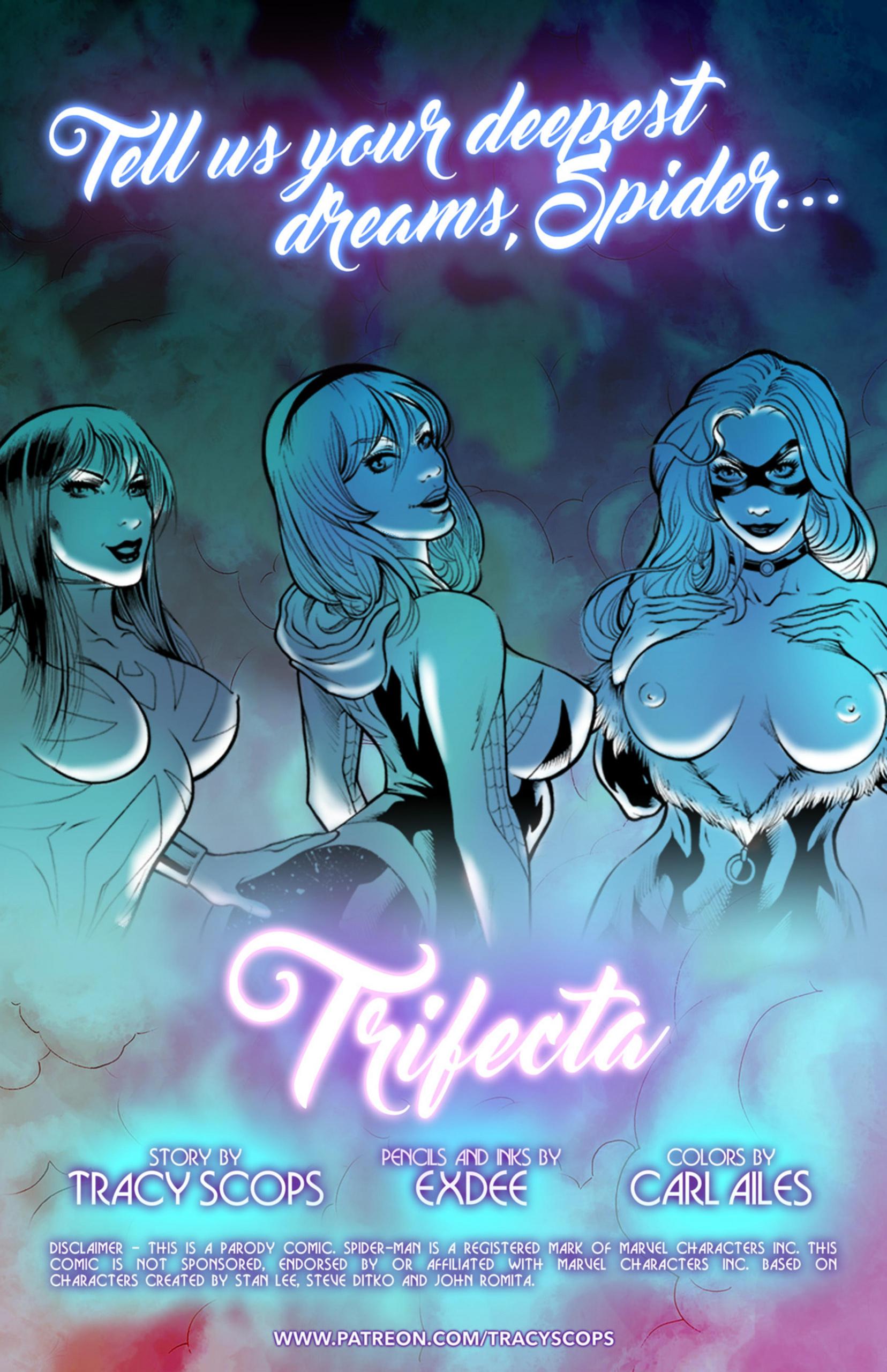Trifecta porn comics Oral sex, Blowjob, Creampie, cunnilingus, fingering, Group Sex, Masturbation, Straight
