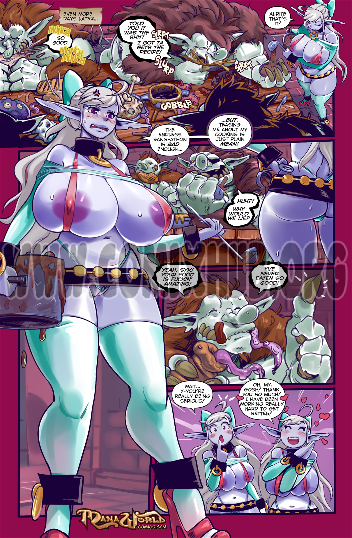 Trouble with Trolls porn comics Oral sex, Anal Sex, Big Tits, Creampie, Cum Swallow, Deepthroat, Double Penetration, Elf, Fantasy, Straight, Threesome, X-Ray