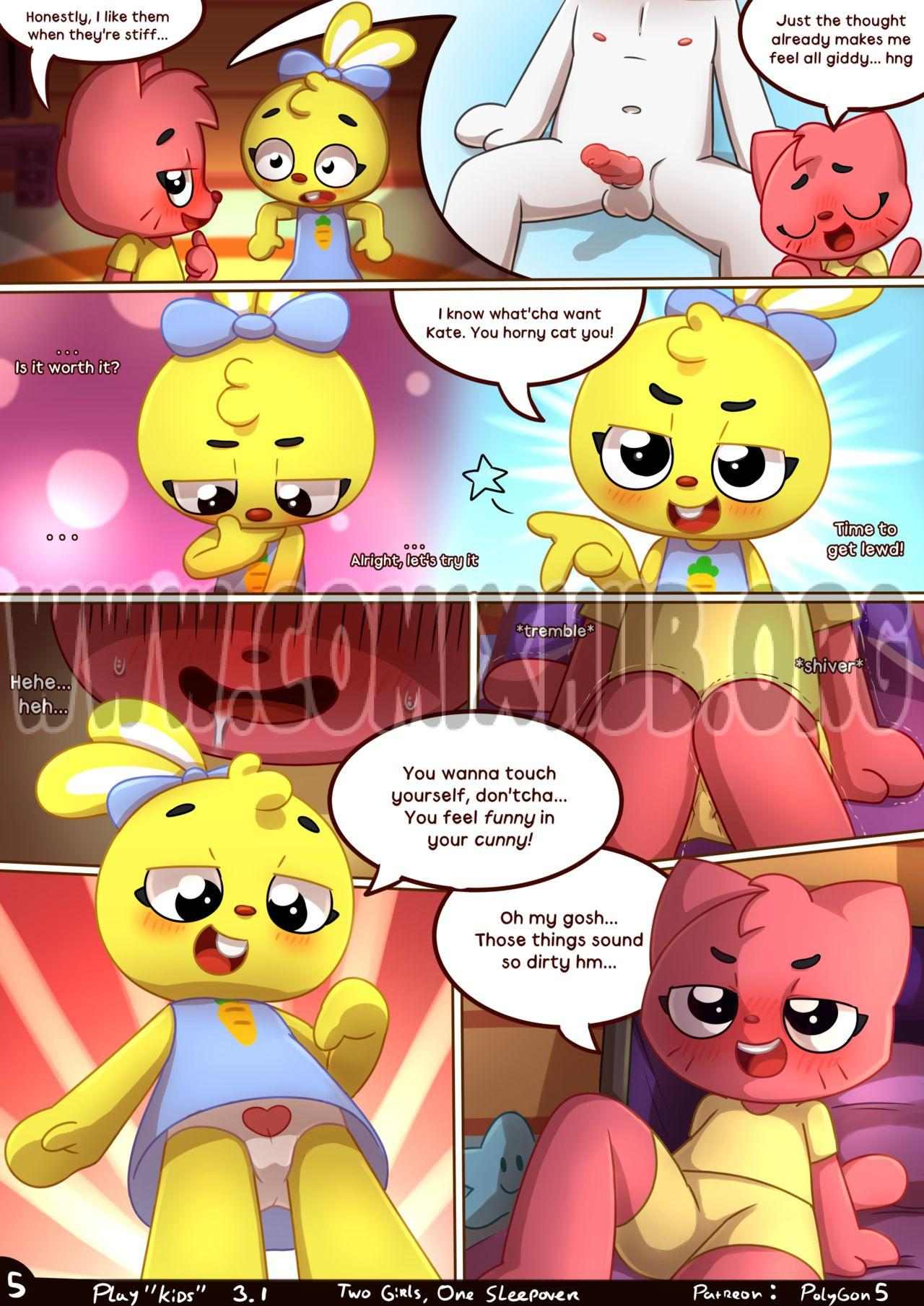 Two girls One sleepover porn comics Furry, fingering, Lesbians, Lolicon, Virgin