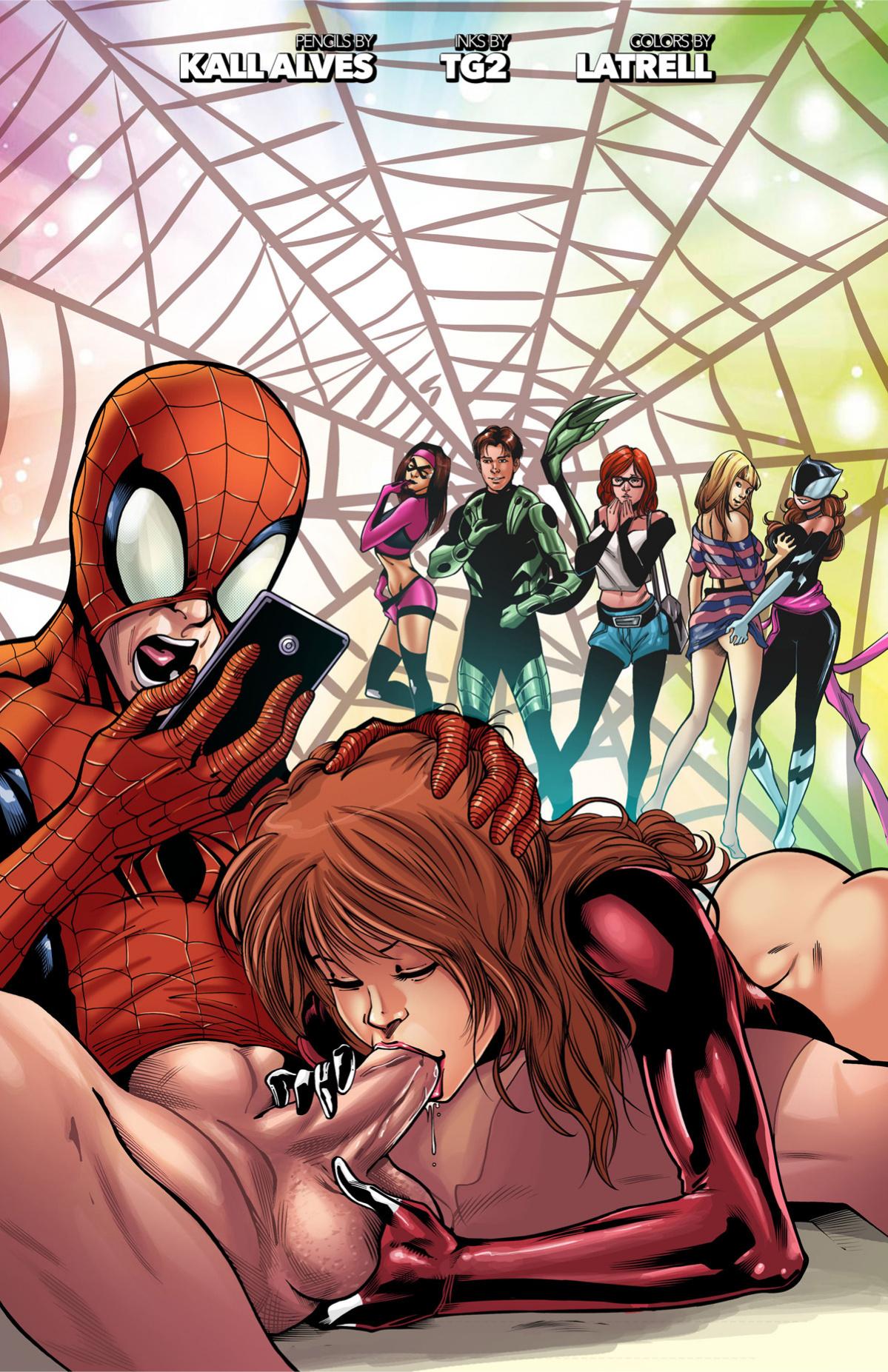 Ultimate Spider-Man XXX 12 - Spidercest porn comics Oral sex, Anal Sex
