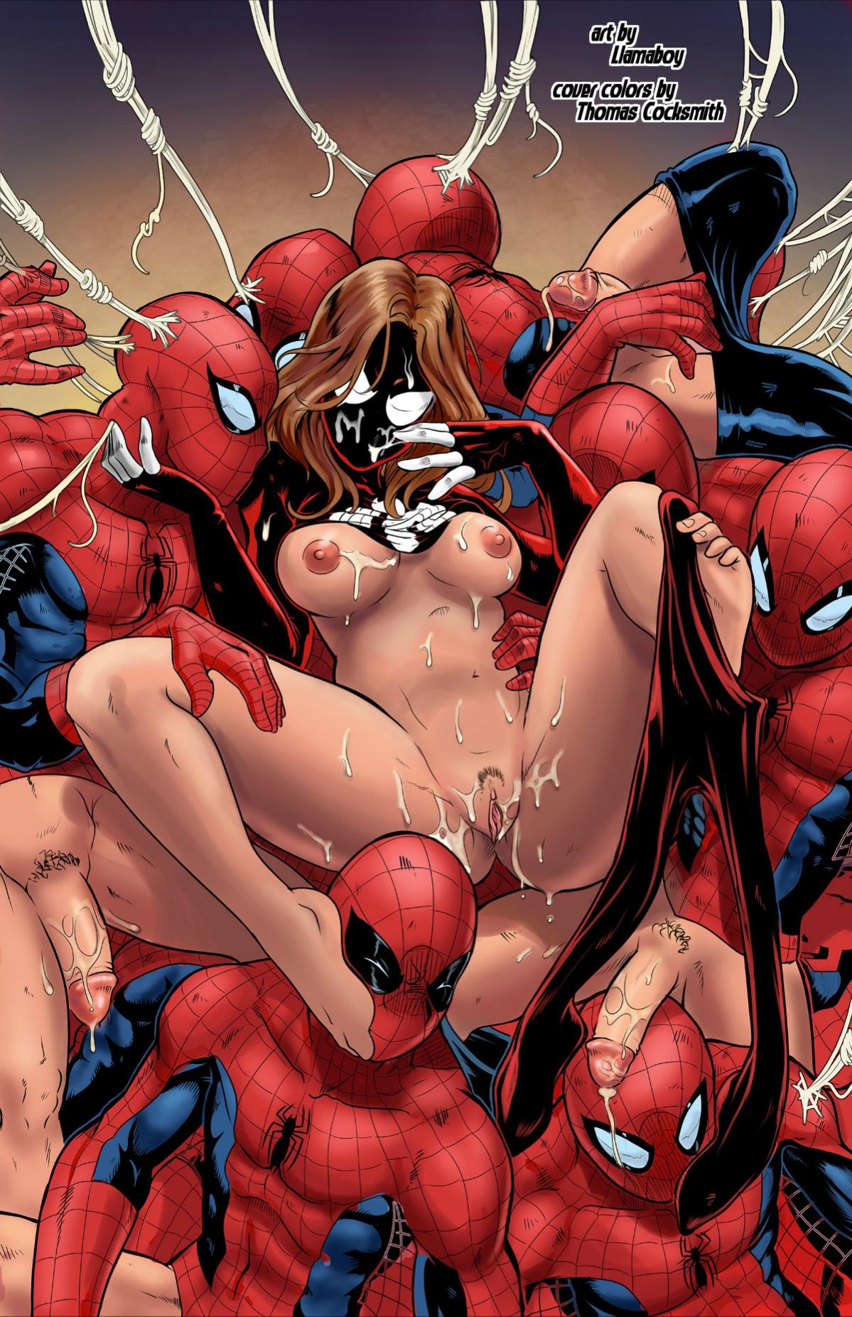 Ultimate Spider-Man XXX 13 - Spidercest porn comics Oral sex, Futanari, Group Sex, Masturbation, Sex Toys