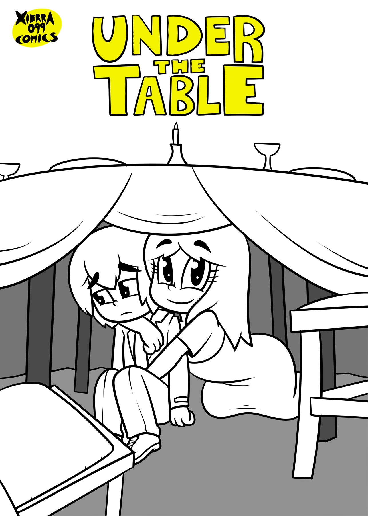 Under The Table porn comics Straight, Creampie, Lolicon, Straight Shota, X-Ray