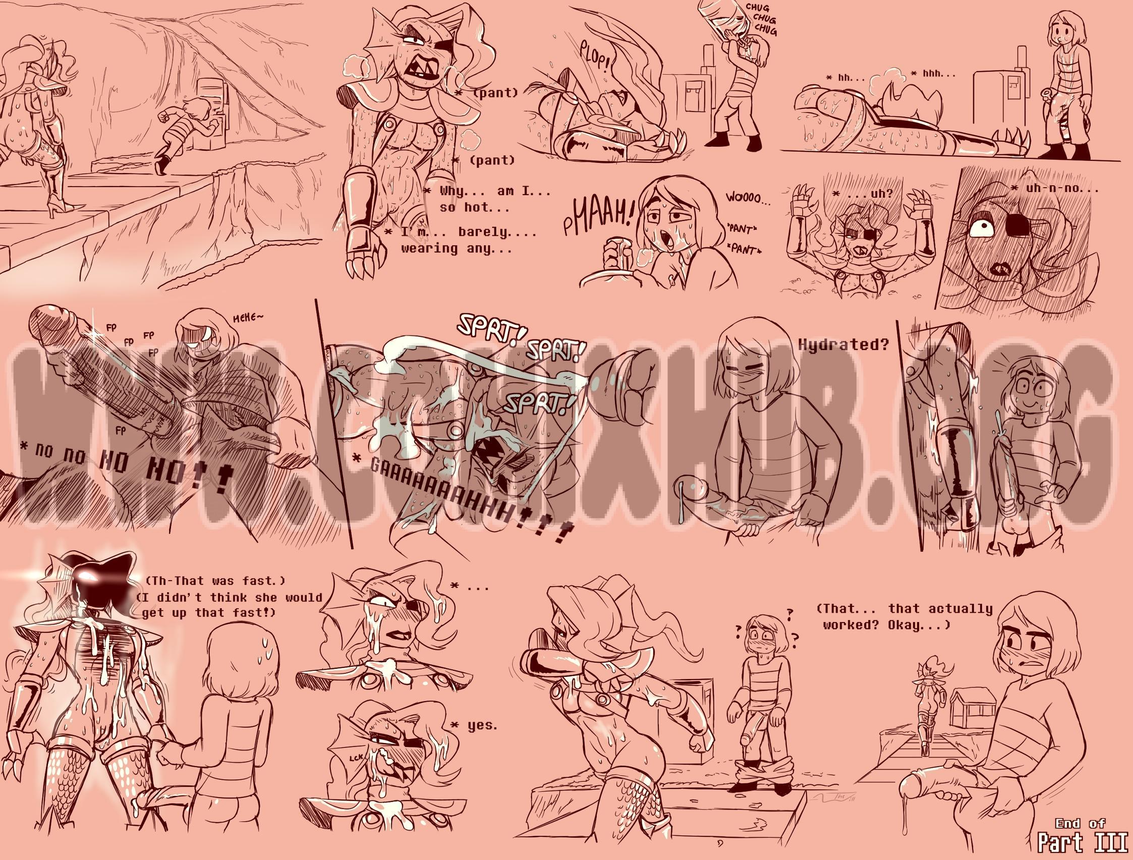 Under(her)tail Monster-GirlEdition 3 porn comics Masturbation, Big Tits, Creampie, Cum Shots, Group Sex, Monster Girls, Stockings, Straight, X-Ray