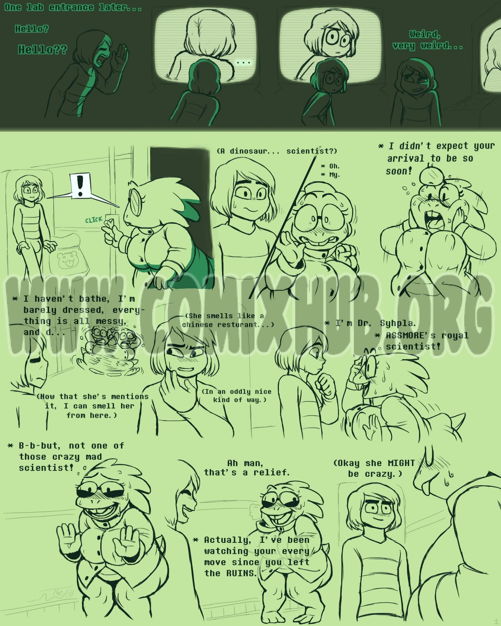 Under(her)tail Monster-GirlEdition 4 porn comics Blowjob, Monster Girls, Oral sex