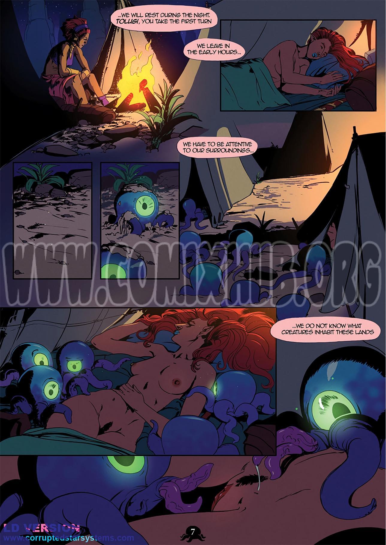 Urbosa's Quest porn comics Blowjob, Creampie, Elf, Fantasy, Oral sex, Straight, Tentacles
