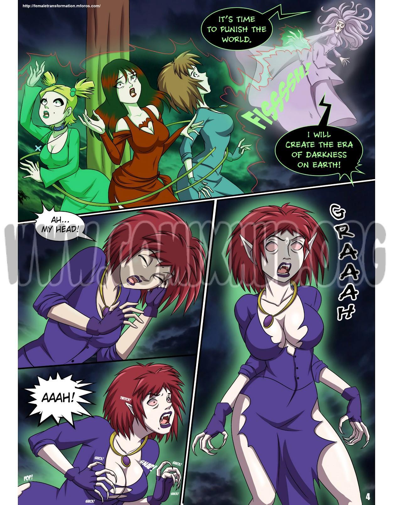 Vampire's Song porn comics Straight, Lesbians, Monster Girls