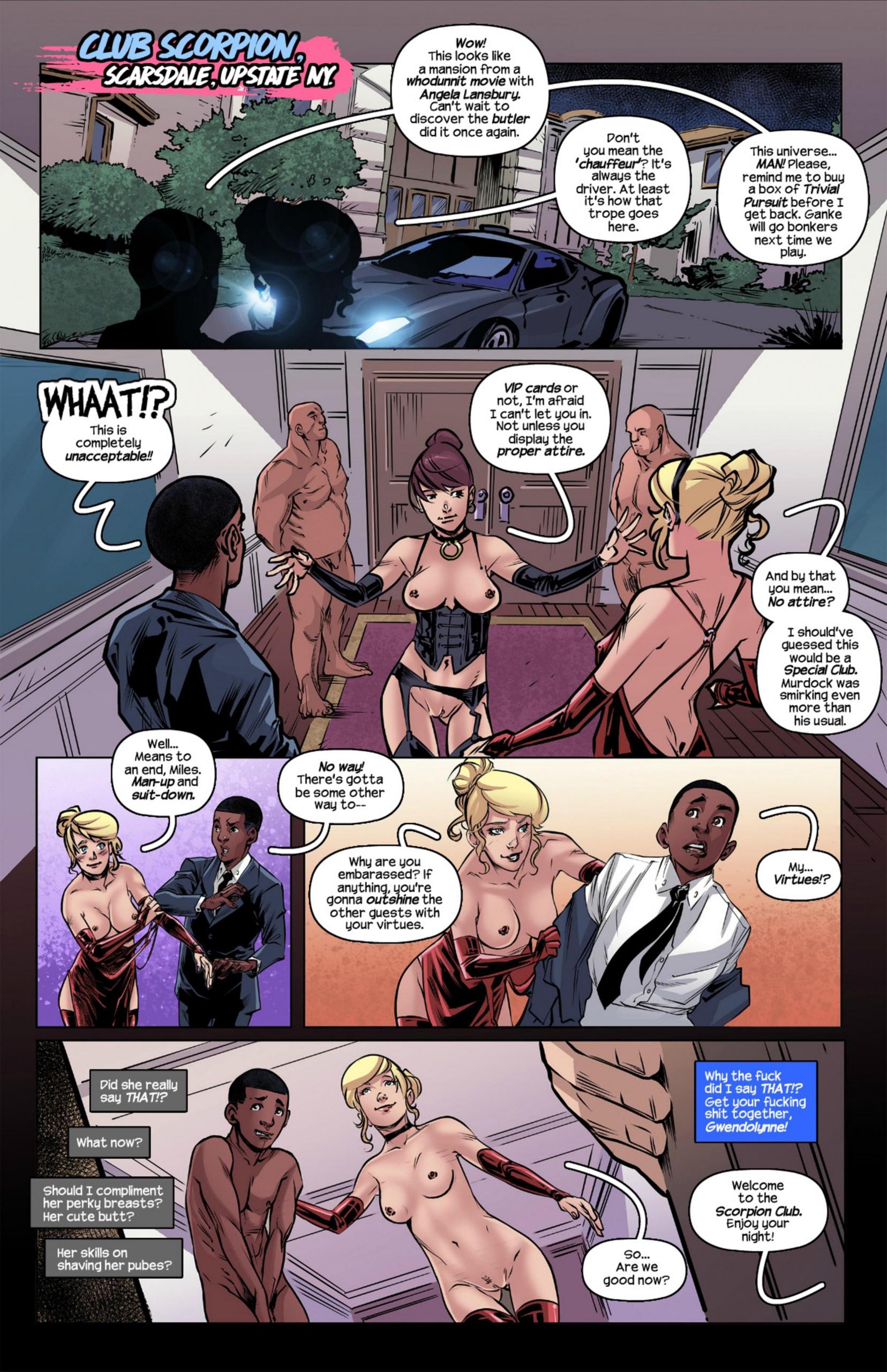 Weaving Fluids 1 porn comics Oral sex, Group Sex, Stockings