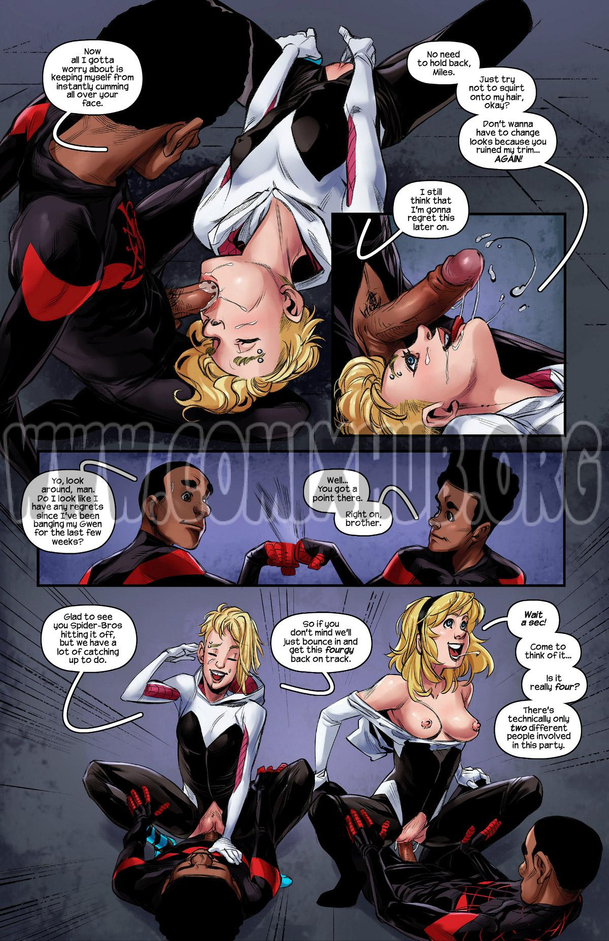 Weaving Fluids 3 porn comics Oral sex, Anal Sex, Blowjob, Cum Shots, Double Penetration, Group Sex, Latex, Lesbians, Straight