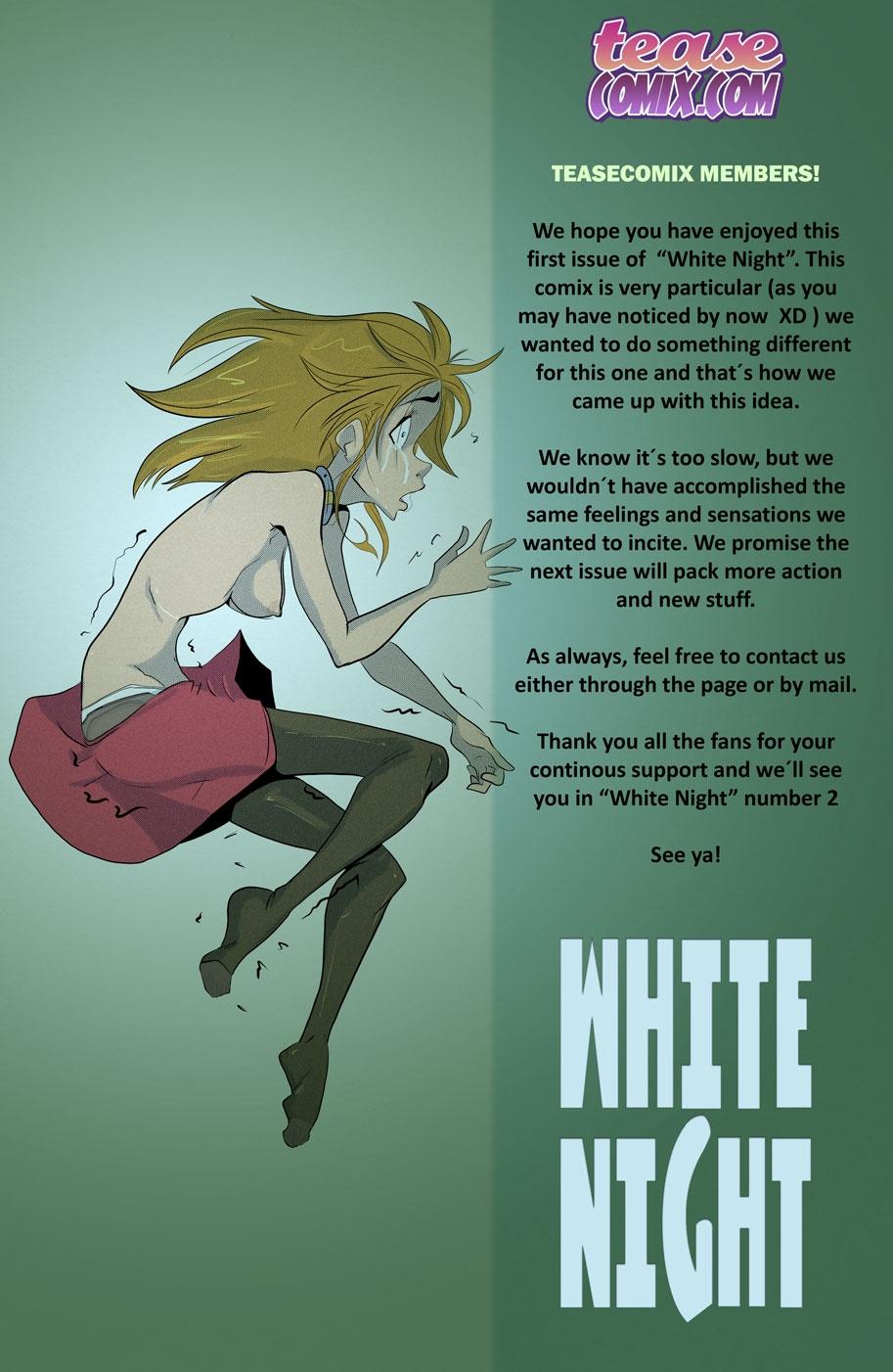White Night porn comics Sex Toys