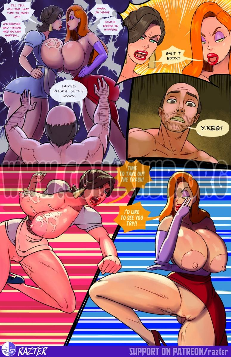 Who Fucked Roger's Rabbit porn comics Anal Sex, BDSM, Big Tits, Blowjob, Creampie, Cum Shots, Domination, Oral sex, Straight, Submission, Threesome, Titfuck, X-Ray