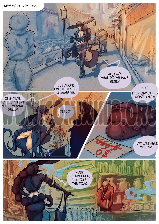 Witch and Toad porn comics Oral sex, Blowjob, Cum Shots, Deepthroat, Fantasy, Straight