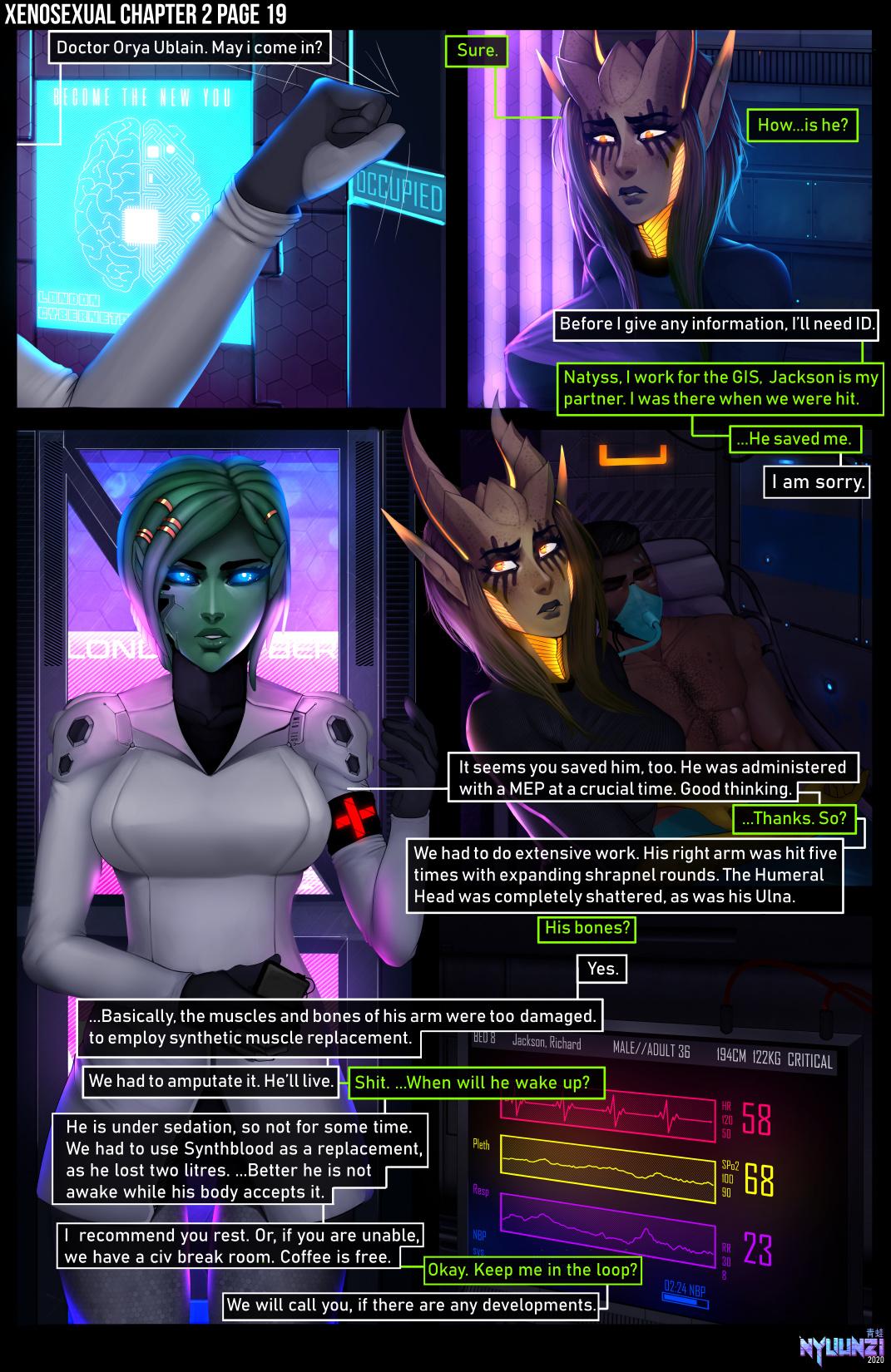 Xenosexual porn comics Oral sex, Aliens, Big Tits, Sci-Fi