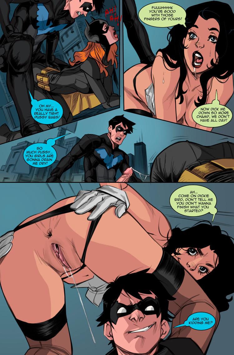 Young Justice XX #01 porn comics Oral sex, Anal Sex, Blowjob, Creampie, Cum Shots, Cum Swallow, cunnilingus, Group Sex, Masturbation, Straight, Threesome