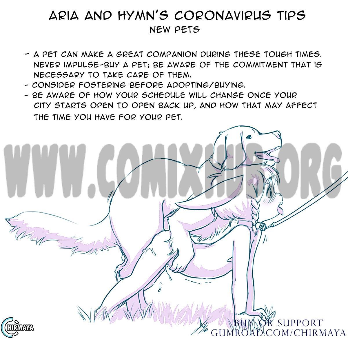 Aria and Hymn's Coronavirus Tips Oral sex, Anal Sex, Bestiality, Blowjob, Gay, Group Sex, incest, Lolicon, Masturbation, Sex Toys, Stockings, Straight, Straight Shota