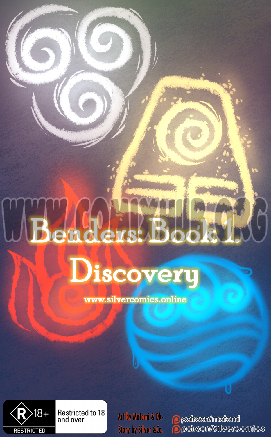 Benders: Book 1. Discovery Furry, Fantasy