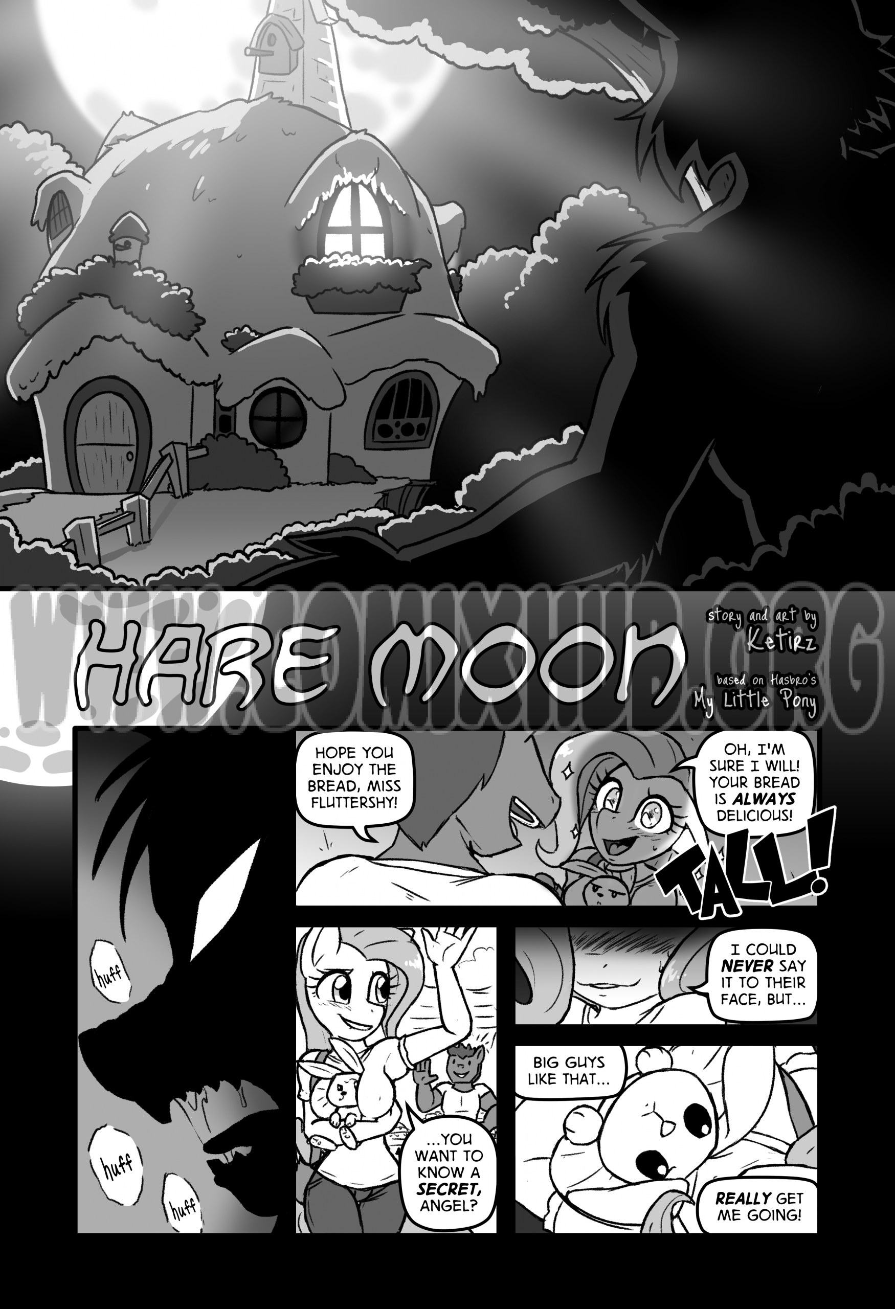 Hare Moon Masturbation, Furry