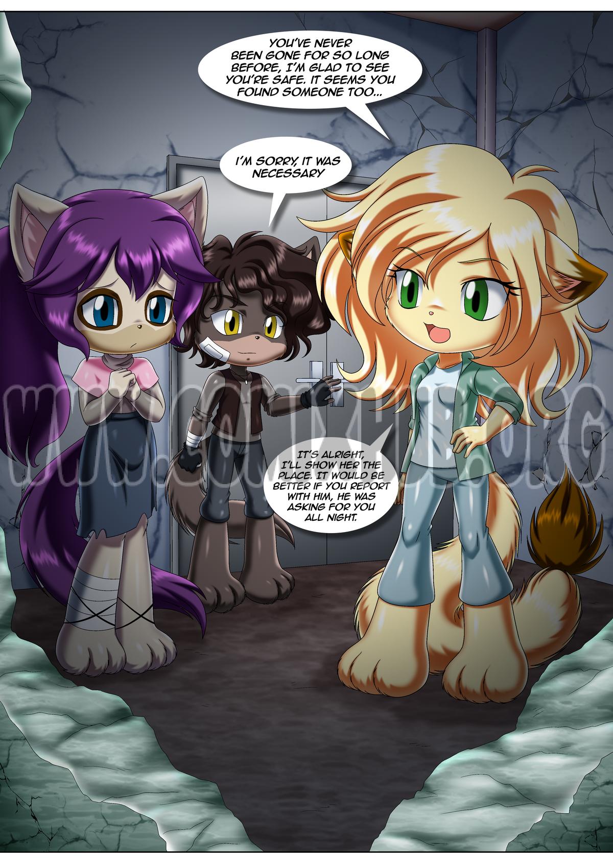 Little Tails 10: Run Furry