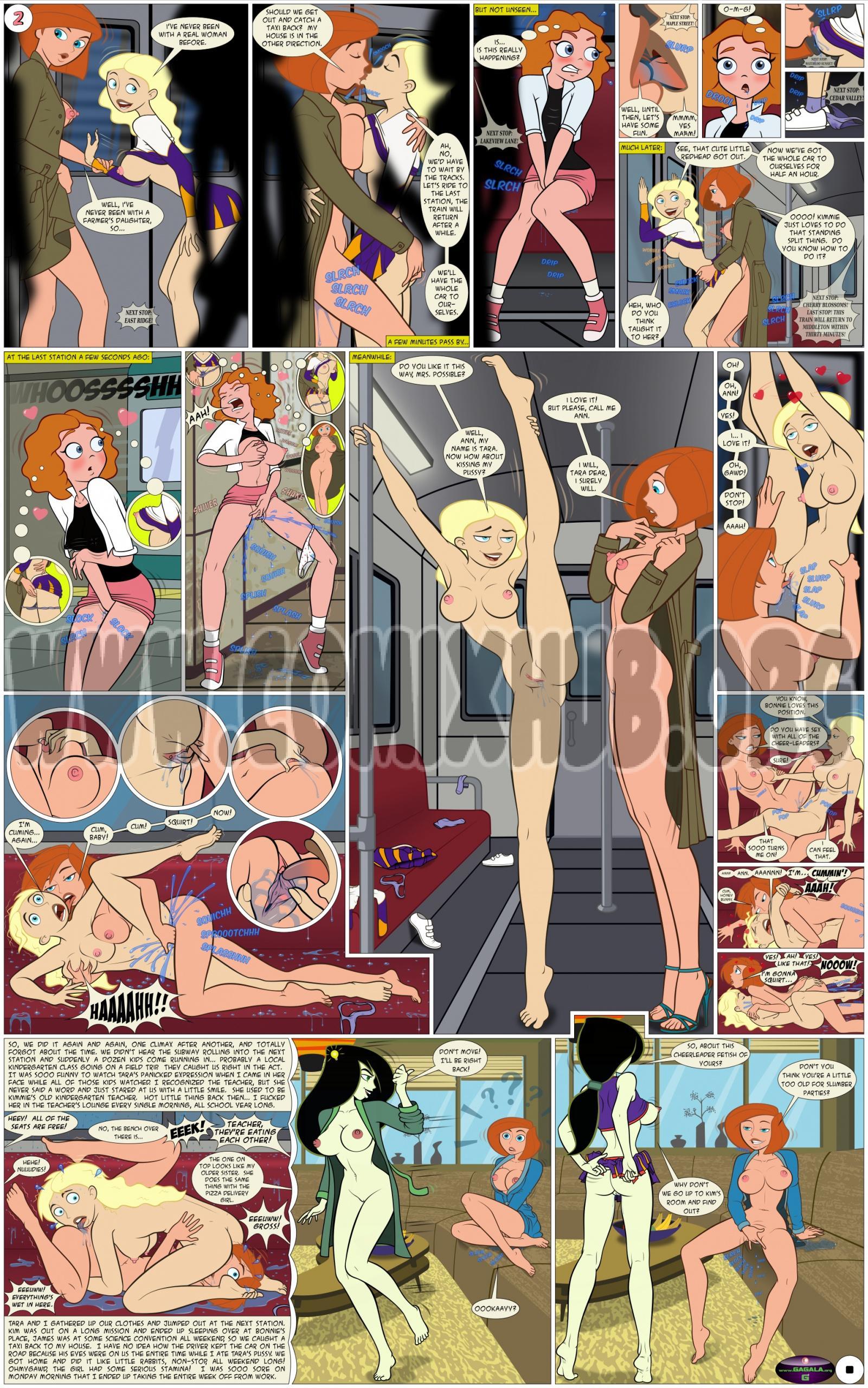 Misc. Comics Oral sex, Bikini, cunnilingus, Lesbians, Masturbation