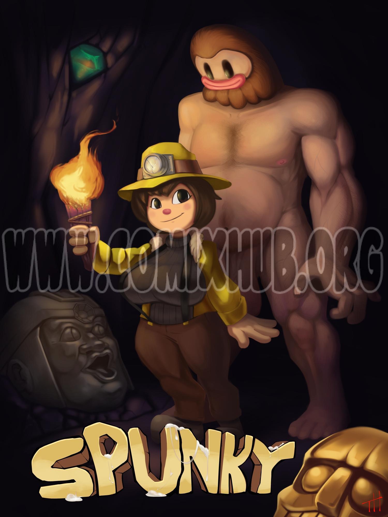 Spunky 2 Straight, Big Tits, Creampie, Fantasy, Rape