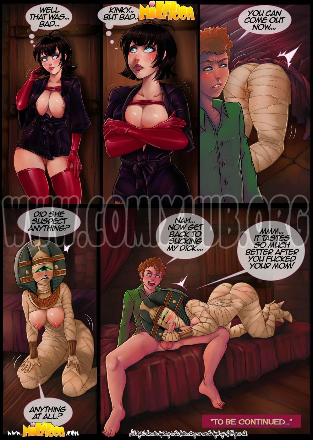 Transylvania Milf 2 Oral sex, Anal Sex, Big Tits, Blowjob, Fantasy, incest, Latex, MILF, Monster Girls, Stockings, Straight, Straight Shota