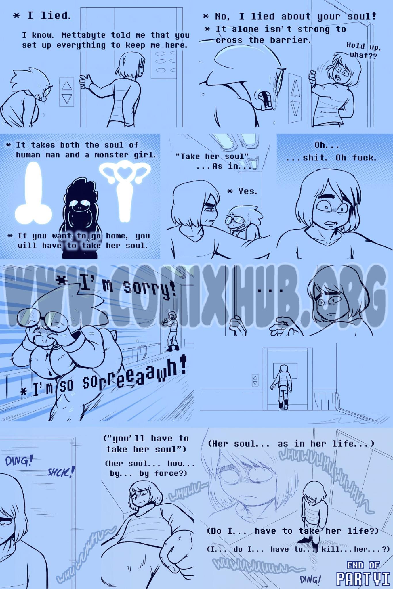Under(her)tail Monster-GirlEdition 6 Straight, Monster Girls