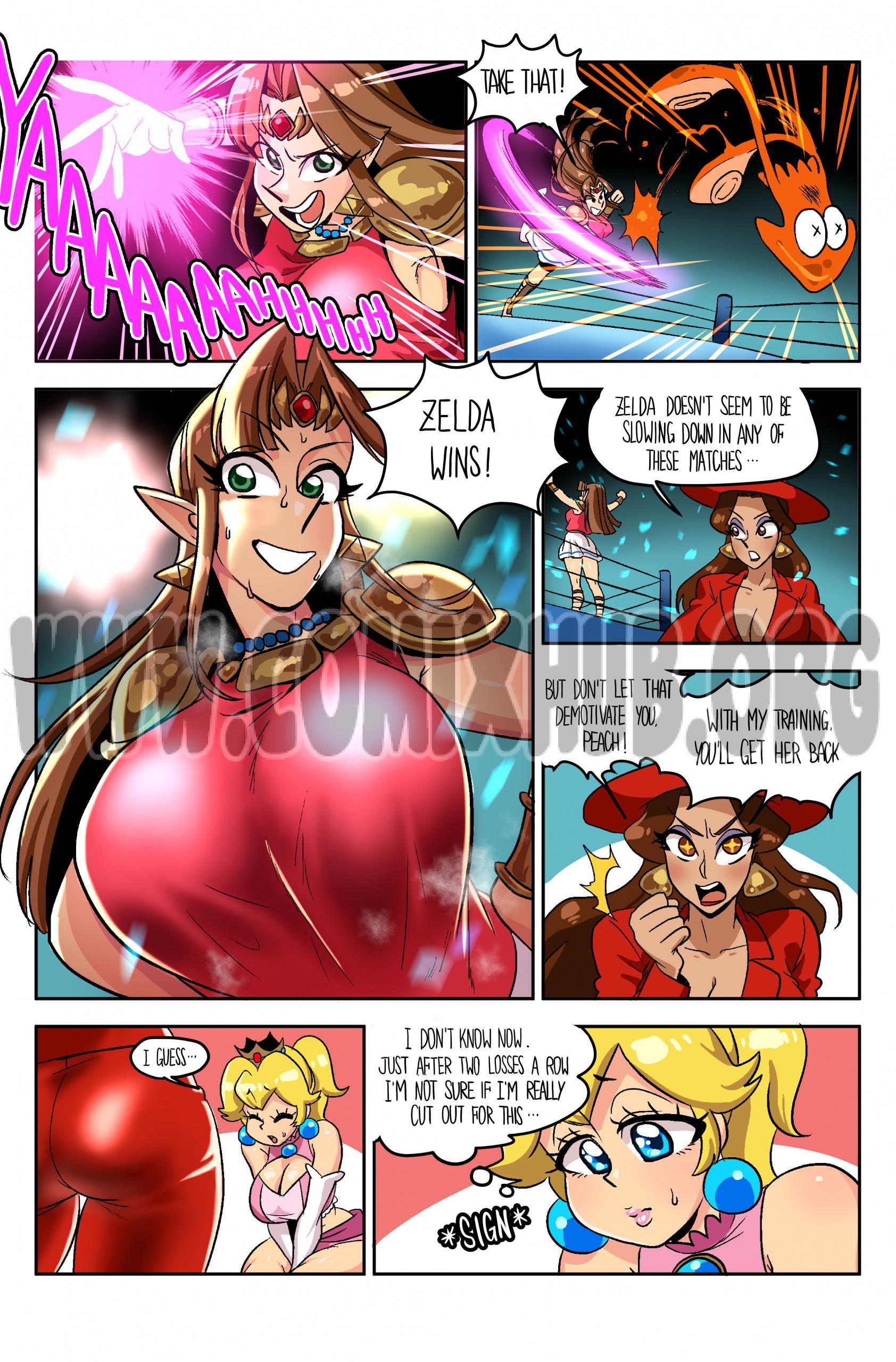 Wrestling Princess 2 Stockings, Big Tits, Bondage, Elf, Fantasy