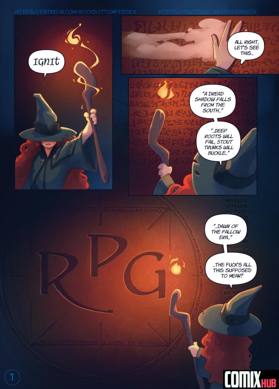 Porn comics R.P.G. Fantasy
