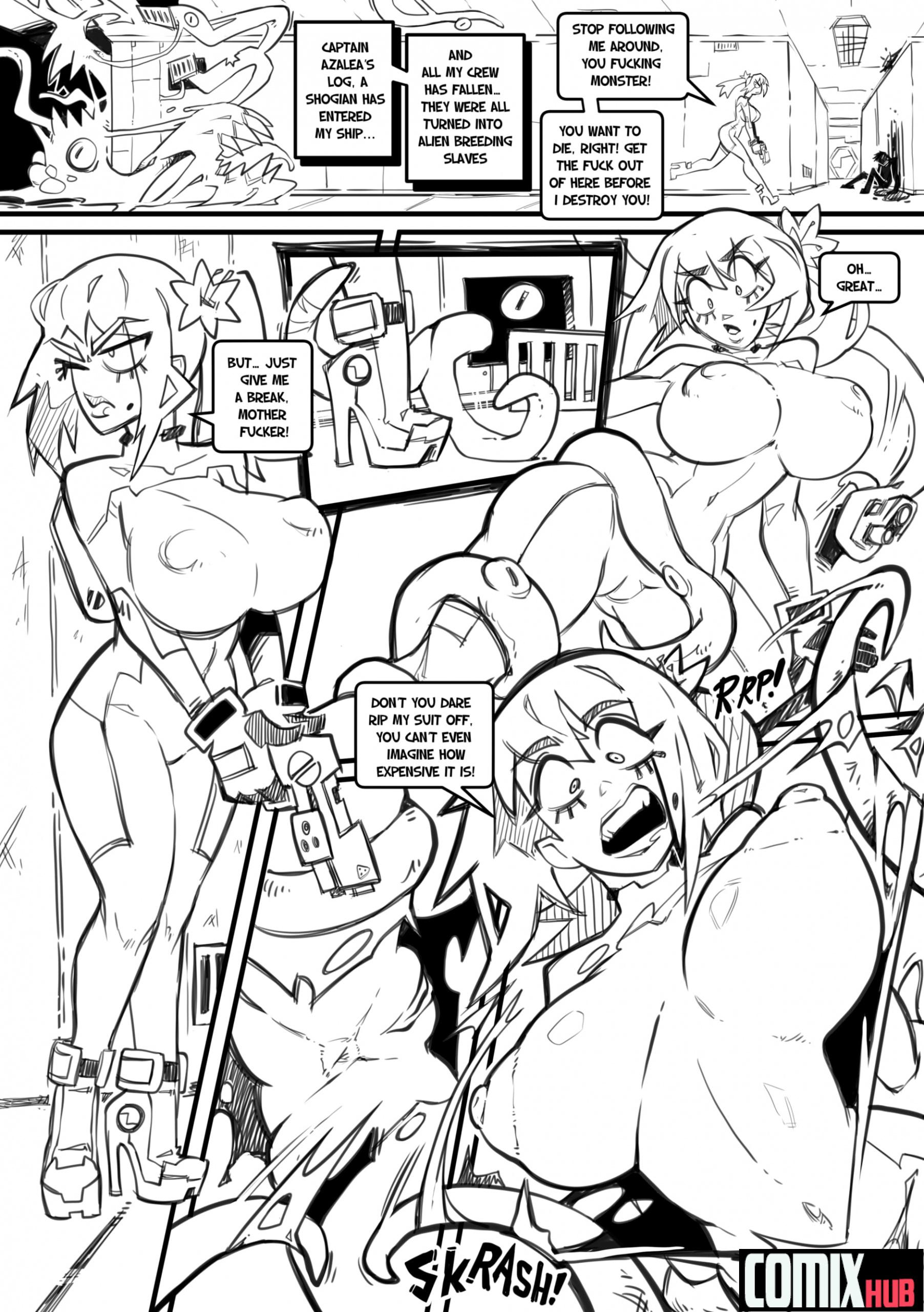 Skarpworld 10: Milk Crisis 4 - Gravity Oral sex, Anal Sex, Big Tits, Blowjob, Creampie, Cum Shots, Deformed, Double Penetration, Group Sex, Stockings, Straight, Tentacles, Titfuck, X-Ray