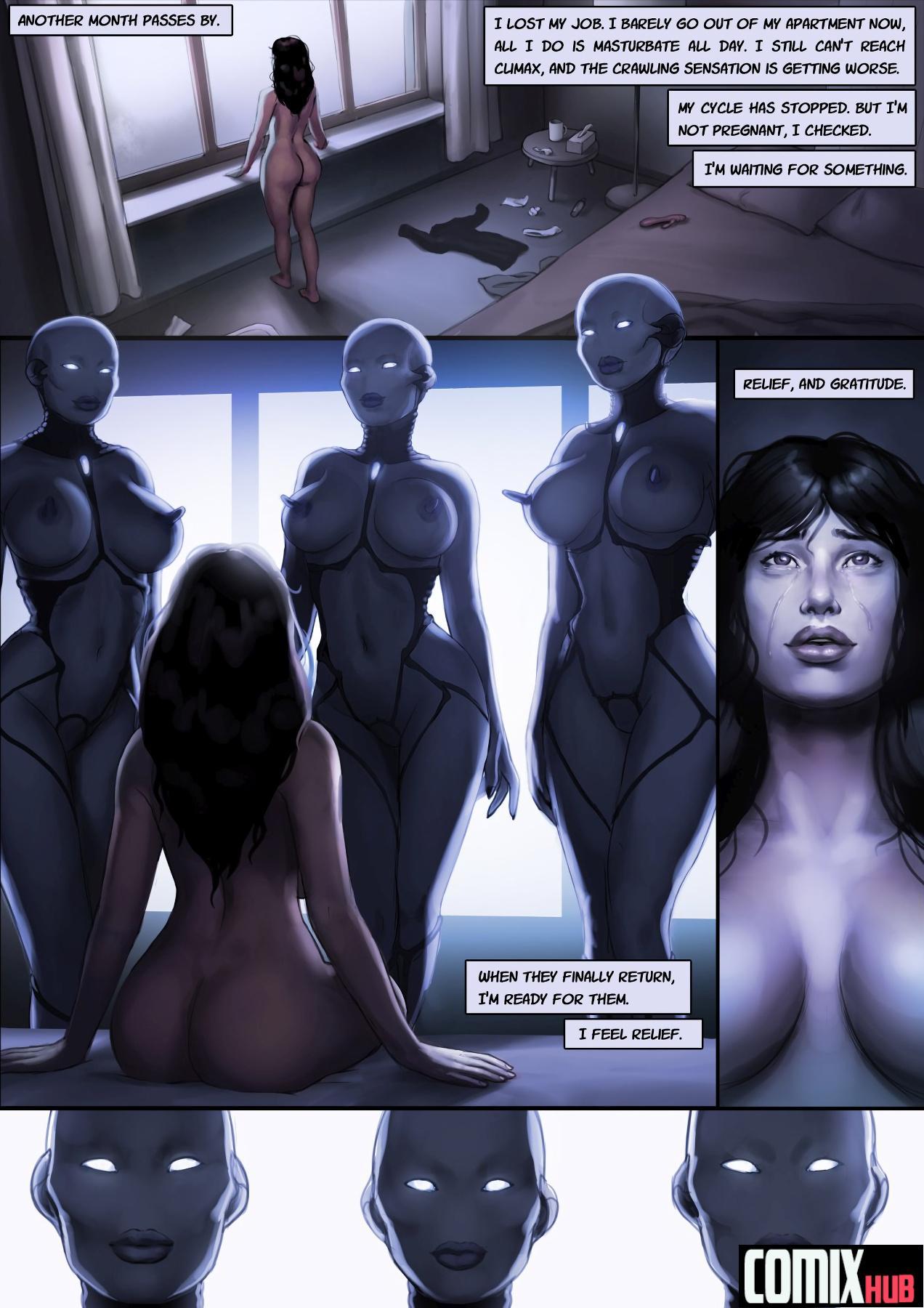Xenomorphosis: Dark Dreams Oral sex, Aliens, Anal Sex, cunnilingus, Double Penetration, fingering, Group Sex, Masturbation, Rape, Straight