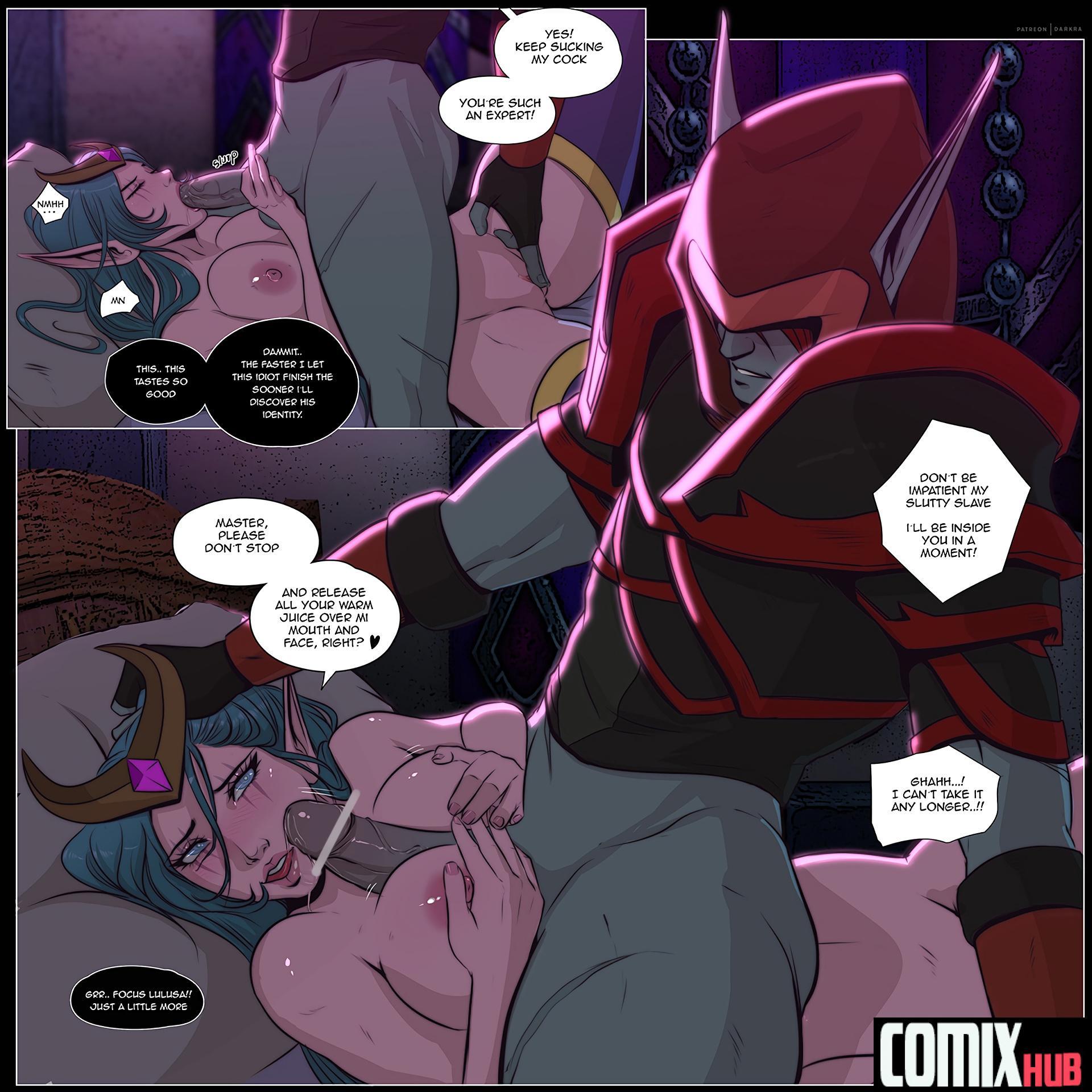 Mark of the Wild Oral sex, Big Tits, Blowjob, Cum Shots, Elf, Fantasy, Masturbation, Rape, Stockings, Titfuck