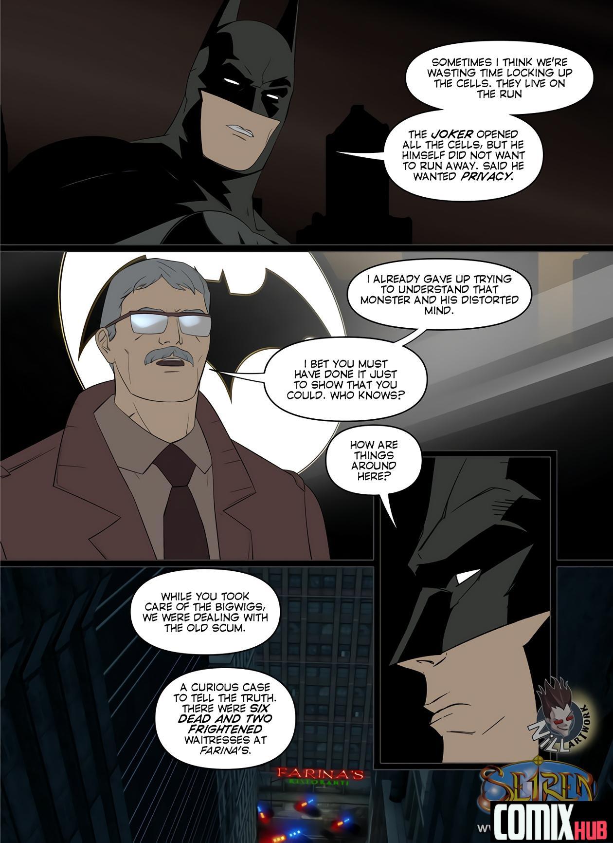 Porn comics, Batman Oral sex, Blowjob, Cum Shots, Cum Swallow, Femdom, Sex and Magic, Straight