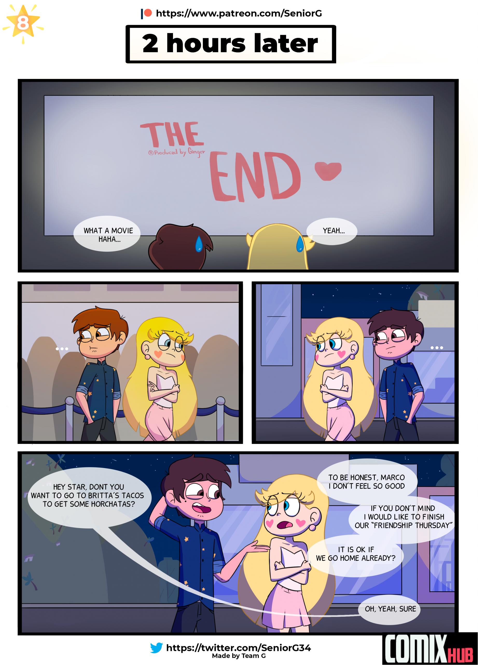 Porn comics, Friendship thursday Masturbation